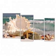 Картина на холсте по фото Модульные картины Печать портретов на холсте Морские сокровища