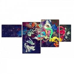 Космос - Модульная картины, Репродукции, Декоративные панно, Декор стен