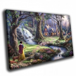 Сказочный лес - Модульная картины, Репродукции, Декоративные панно, Декор стен