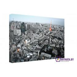 Сердце города - Модульная картины, Репродукции, Декоративные панно, Декор стен