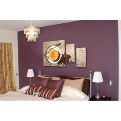 Сладкий кофе - Модульная картины, Репродукции, Декоративные панно, Декор стен