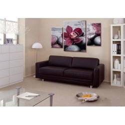 Пурпурный цветок - Модульная картины, Репродукции, Декоративные панно, Декор стен