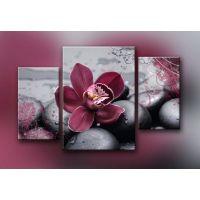 Портреты картины репродукции на заказ - Пурпурный цветок