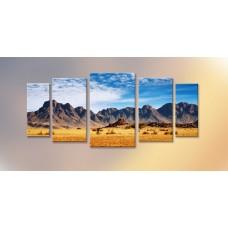 Картина на холсте по фото Модульные картины Печать портретов на холсте Горы