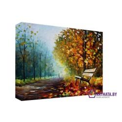 Фото на холсте Печать картин Репродукции и портреты - Опавшие листья