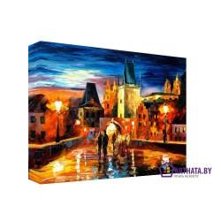Старый город - Модульная картины, Репродукции, Декоративные панно, Декор стен