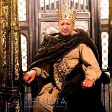 Картина на холсте по фото Модульные картины Печать портретов на холсте В образе Короля