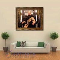 Портреты картины репродукции на заказ - В образе Короля