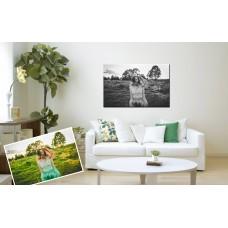 Картина на холсте по фото Модульные картины Печать портретов на холсте Картина из фотографии