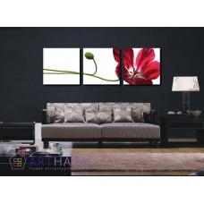 Картина на холсте по фото Модульные картины Печать портретов на холсте Цветок