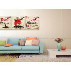 Картина на холсте по фото Модульные картины Печать портретов на холсте Японские мотивы