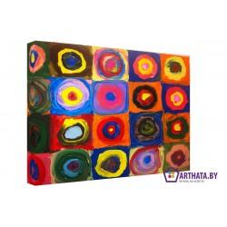 Энди Уорхел – детство  - Модульная картины, Репродукции, Декоративные панно, Декор стен