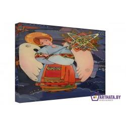 Ангел  - Модульная картины, Репродукции, Декоративные панно, Декор стен