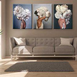 Эмми Джудд - Мысли в цветах - Модульная картины, Репродукции, Декоративные панно, Декор стен