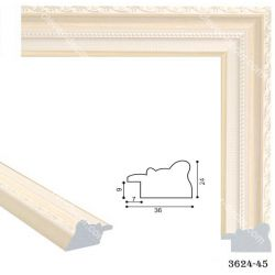 193062 Багет пластиковый 3624-45 - Модульная картины, Репродукции, Декоративные панно, Декор стен
