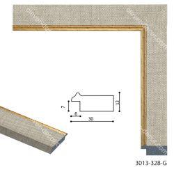 193027 Багет пластиковый 3013-328-G - Модульная картины, Репродукции, Декоративные панно, Декор стен