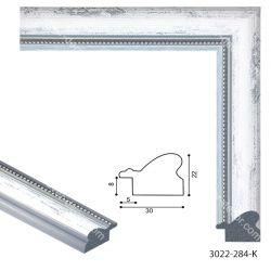 193048 Багет пластиковый 3022-284-K - Модульная картины, Репродукции, Декоративные панно, Декор стен