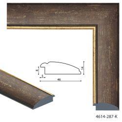 194012 Багет пластиковый 4614-287-K - Модульная картины, Репродукции, Декоративные панно, Декор стен