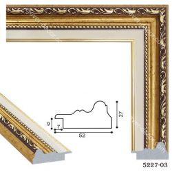 195001 Багет пластиковый 5227-03 - Модульная картины, Репродукции, Декоративные панно, Декор стен