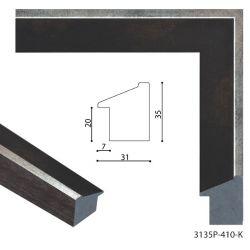 193089 Багет пластиковый 3135P-410-K - Модульная картины, Репродукции, Декоративные панно, Декор стен