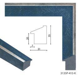 193090 Багет пластиковый 3135P-413-K - Модульная картины, Репродукции, Декоративные панно, Декор стен