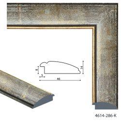 194011 Багет пластиковый 4614-286-K - Модульная картины, Репродукции, Декоративные панно, Декор стен
