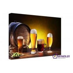 Мечта пивовара - Модульная картины, Репродукции, Декоративные панно, Декор стен