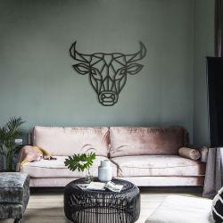 """Панно """"Голова быка"""" - Модульная картины, Репродукции, Декоративные панно, Декор стен"""