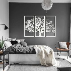 """Панно """"Могучий дуб"""" - Модульная картины, Репродукции, Декоративные панно, Декор стен"""