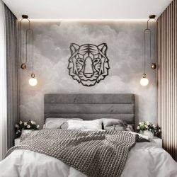 """Панно """"Тигр"""" - Модульная картины, Репродукции, Декоративные панно, Декор стен"""