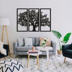 "Панно ""Дерево на закате"" - Модульная картины, Репродукции, Декоративные панно, Декор стен"