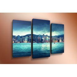 Модульная картина на стекле - m-000119 - Модульная картины, Репродукции, Декоративные панно, Декор стен