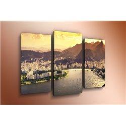 Модульная картина на стекле - m-000006 - Модульная картины, Репродукции, Декоративные панно, Декор стен