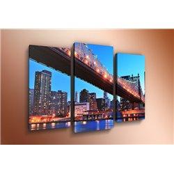 Модульная картина на стекле - m-000007 - Модульная картины, Репродукции, Декоративные панно, Декор стен