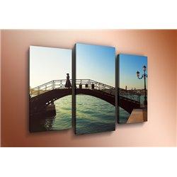 Модульная картина на стекле - m-000110 - Модульная картины, Репродукции, Декоративные панно, Декор стен