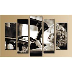 Модульная картина на стекле - 5m-007 - Модульная картины, Репродукции, Декоративные панно, Декор стен
