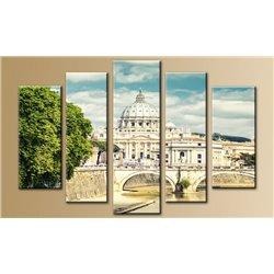Модульная картина на стекле - 5m-008 - Модульная картины, Репродукции, Декоративные панно, Декор стен