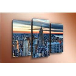 Модульная картина на стекле - m-000118 - Модульная картины, Репродукции, Декоративные панно, Декор стен