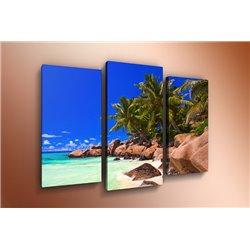 Модульная картина на стекле - m-000126 - Модульная картины, Репродукции, Декоративные панно, Декор стен