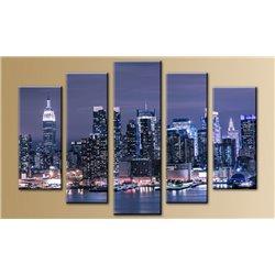 Модульная картина на стекле - 5m-022 - Модульная картины, Репродукции, Декоративные панно, Декор стен