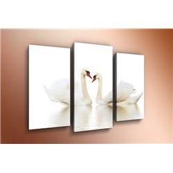 Модульная картина на стекле - m-000140 - Модульная картины, Репродукции, Декоративные панно, Декор стен