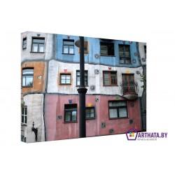 Фото на холсте Печать картин Репродукции и портреты - Цветные стены