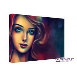 Русалка - Модульная картины, Репродукции, Декоративные панно, Декор стен