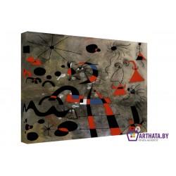 Joan Miro_009 - Модульная картины, Репродукции, Декоративные панно, Декор стен