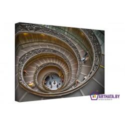 Стремительная спираль - Модульная картины, Репродукции, Декоративные панно, Декор стен