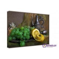 Картина на холсте по фото Модульные картины Печать портретов на холсте Цедра лимона