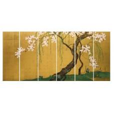 Картина на холсте по фото Модульные картины Печать портретов на холсте Японская сакура