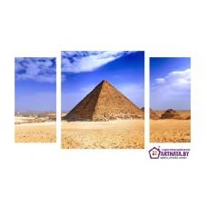 Картина на холсте по фото Модульные картины Печать портретов на холсте Египетские пирамиды