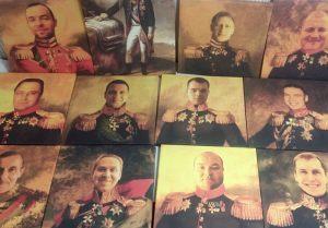 Картины в образе генерала