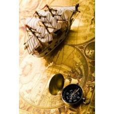 Фотообои - Морской компас